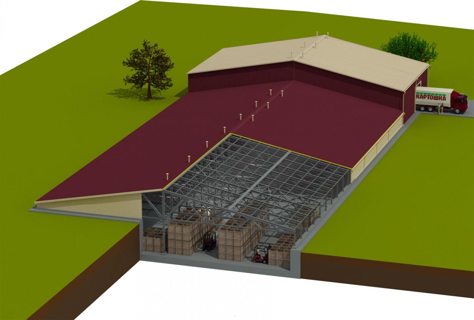 Овощехранилище подземное на даче